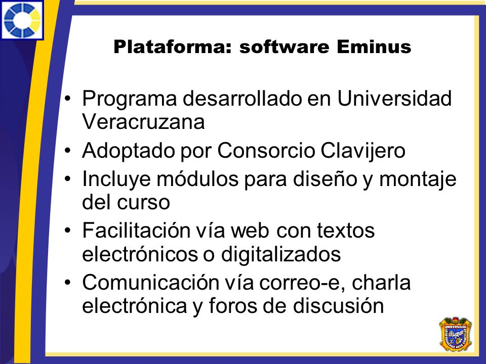 Plataforma: software Eminus