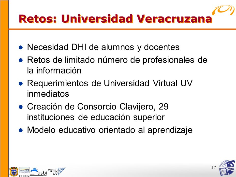 Retos: Universidad Veracruzana