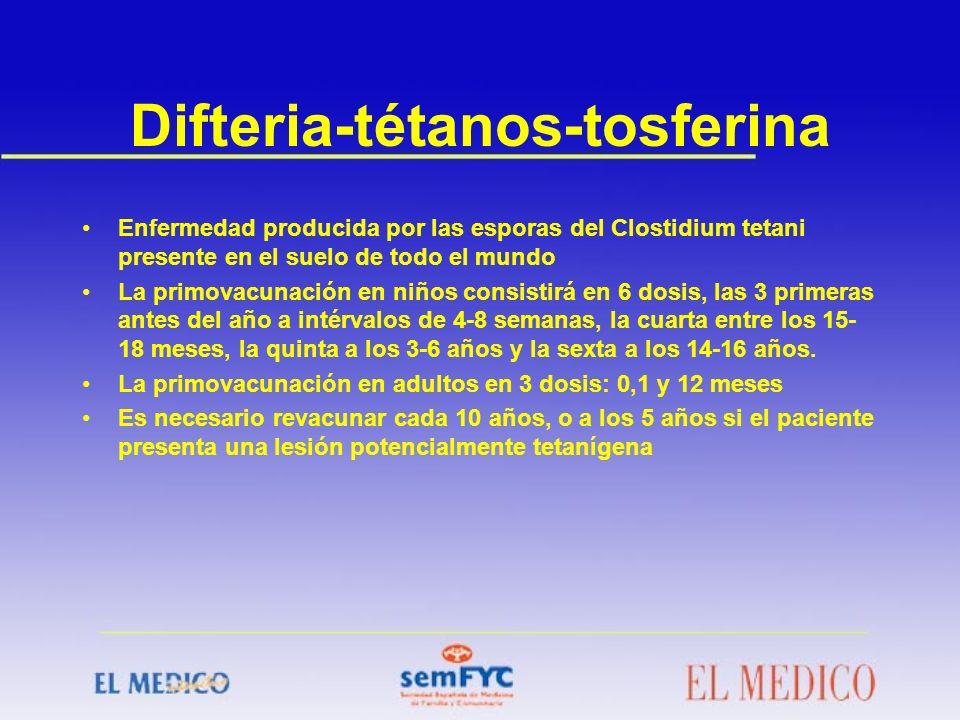 Difteria-tétanos-tosferina