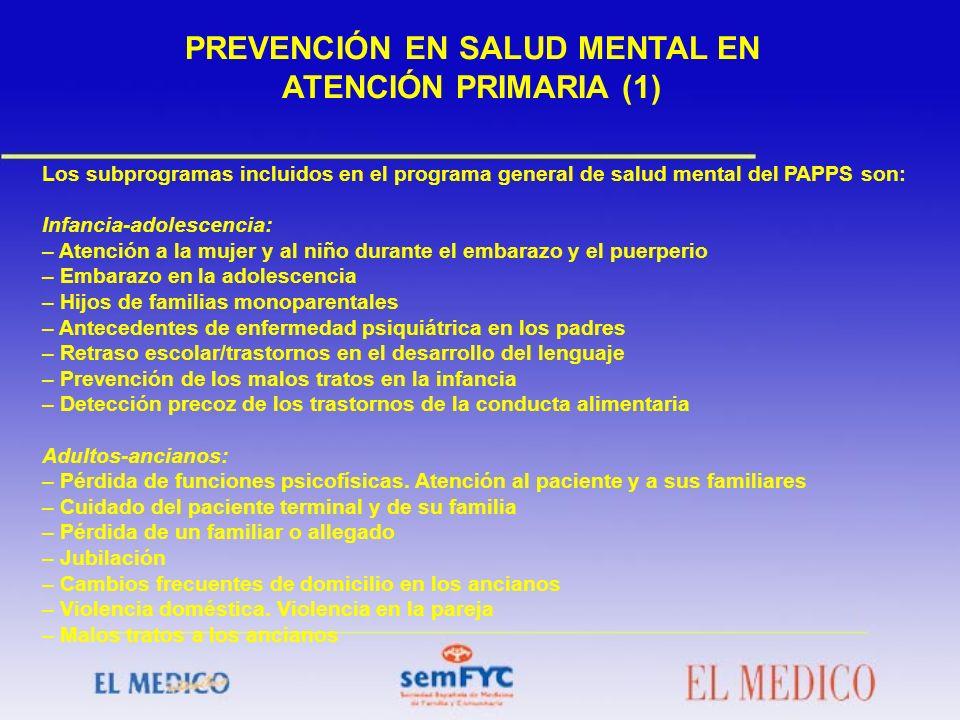 PREVENCIÓN EN SALUD MENTAL EN ATENCIÓN PRIMARIA (1)