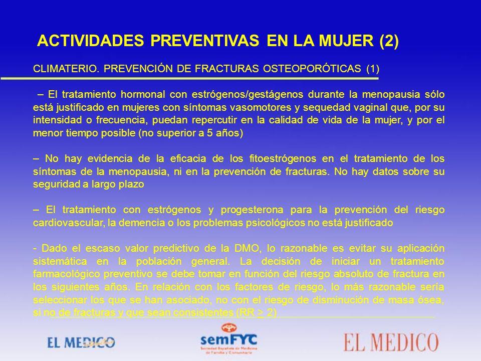 ACTIVIDADES PREVENTIVAS EN LA MUJER (2)