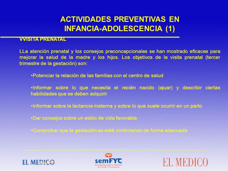 ACTIVIDADES PREVENTIVAS EN INFANCIA-ADOLESCENCIA (1)