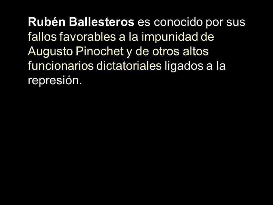 Rubén Ballesteros es conocido por sus