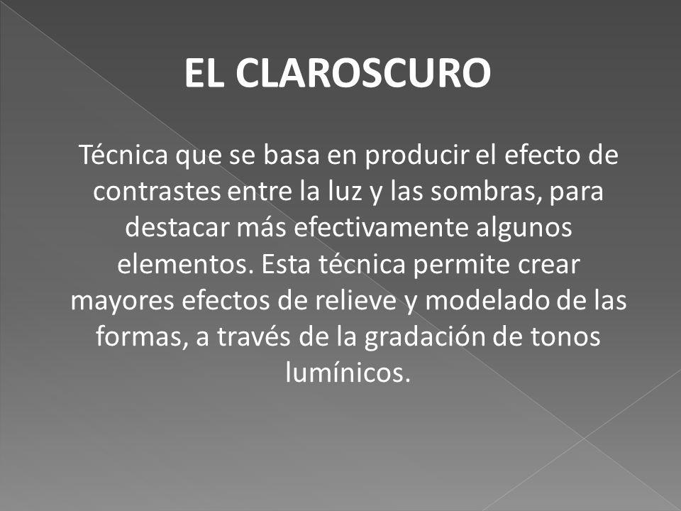 Claroscuro Y Contraluz Ppt Descargar