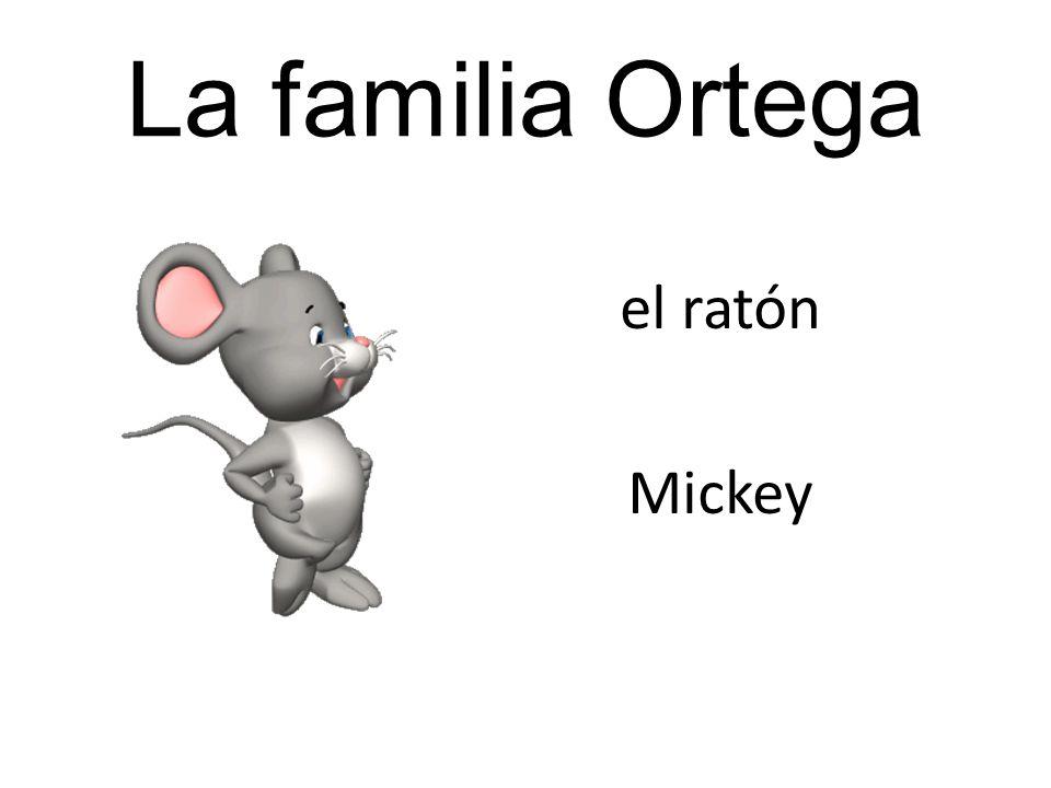 La familia Ortega el ratón Mickey