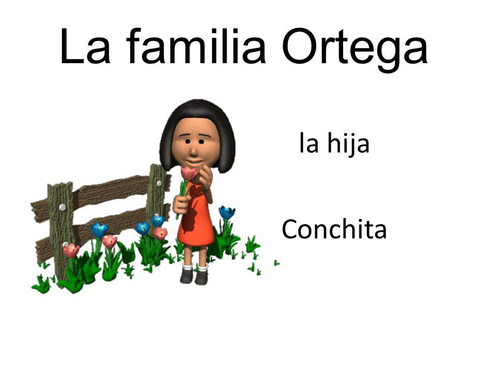 La familia Ortega la hija Conchita