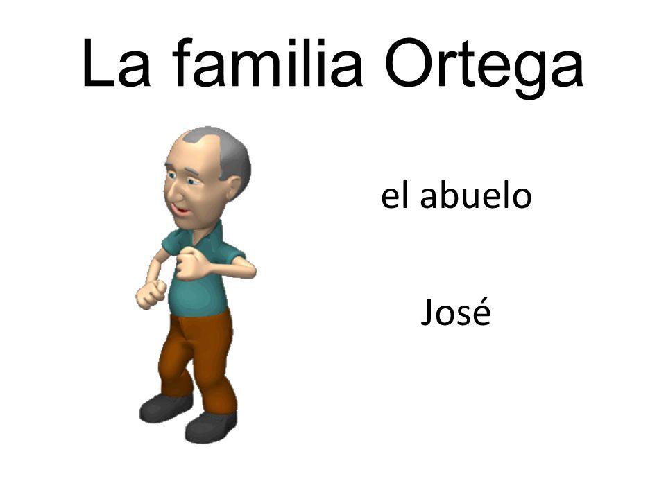 La familia Ortega el abuelo José