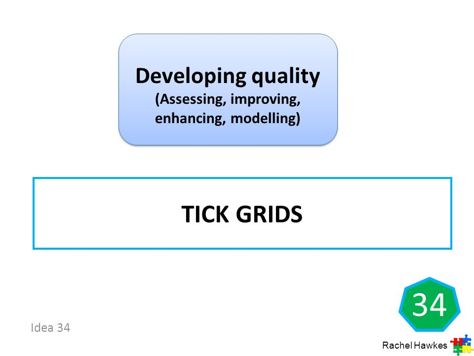 Developing quality (Assessing, improving, enhancing, modelling)