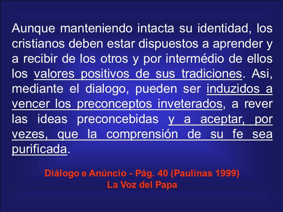 Diálogo e Anúncio - Pág. 40 (Paulinas 1999)