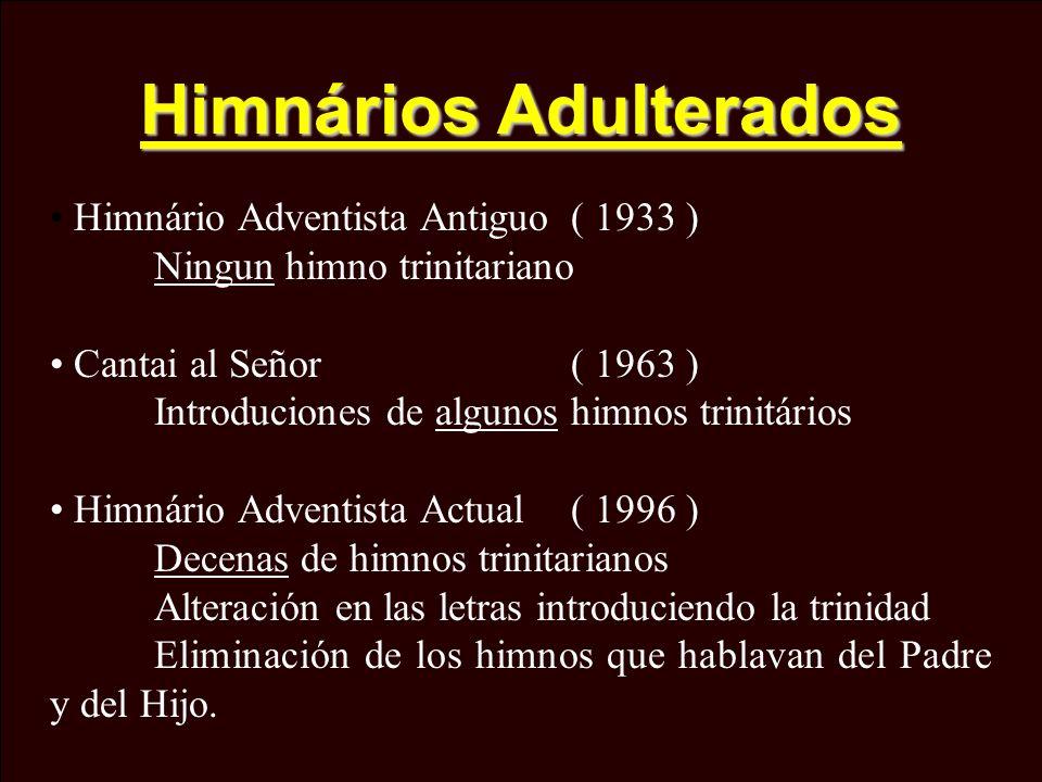 Himnários Adulterados