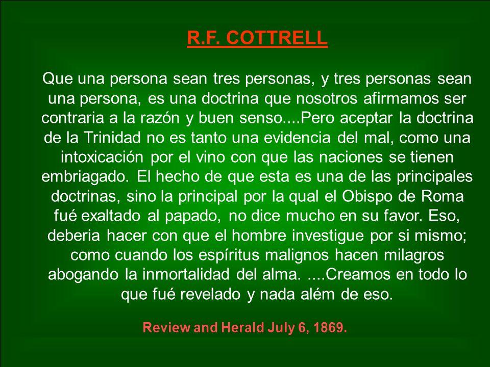 R.F. COTTRELL
