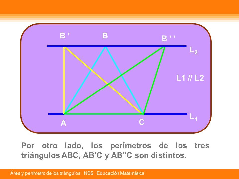 B ' B. B ' ' L2. L1 // L2. L1. A. C.