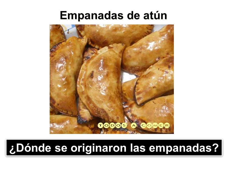 ¿Dónde se originaron las empanadas
