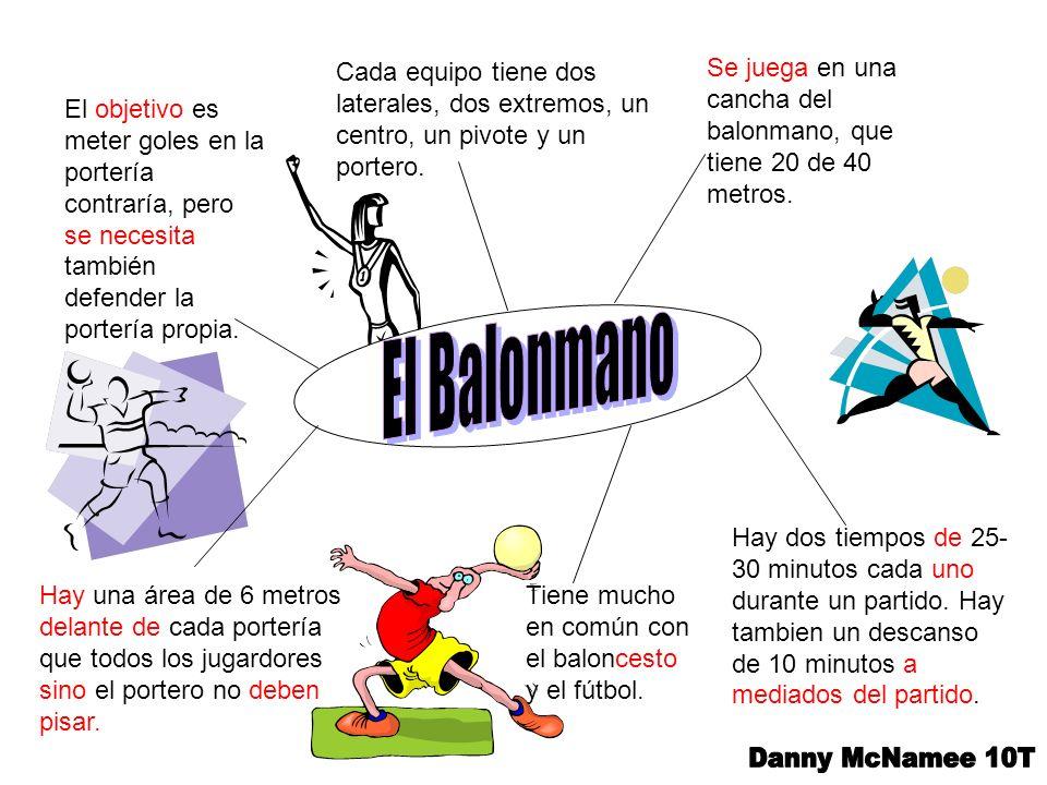 El Balonmano Danny McNamee 10T