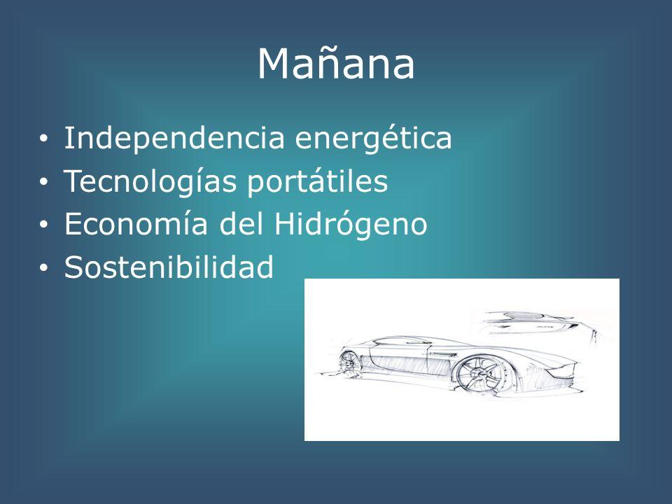 Mañana Independencia energética Tecnologías portátiles