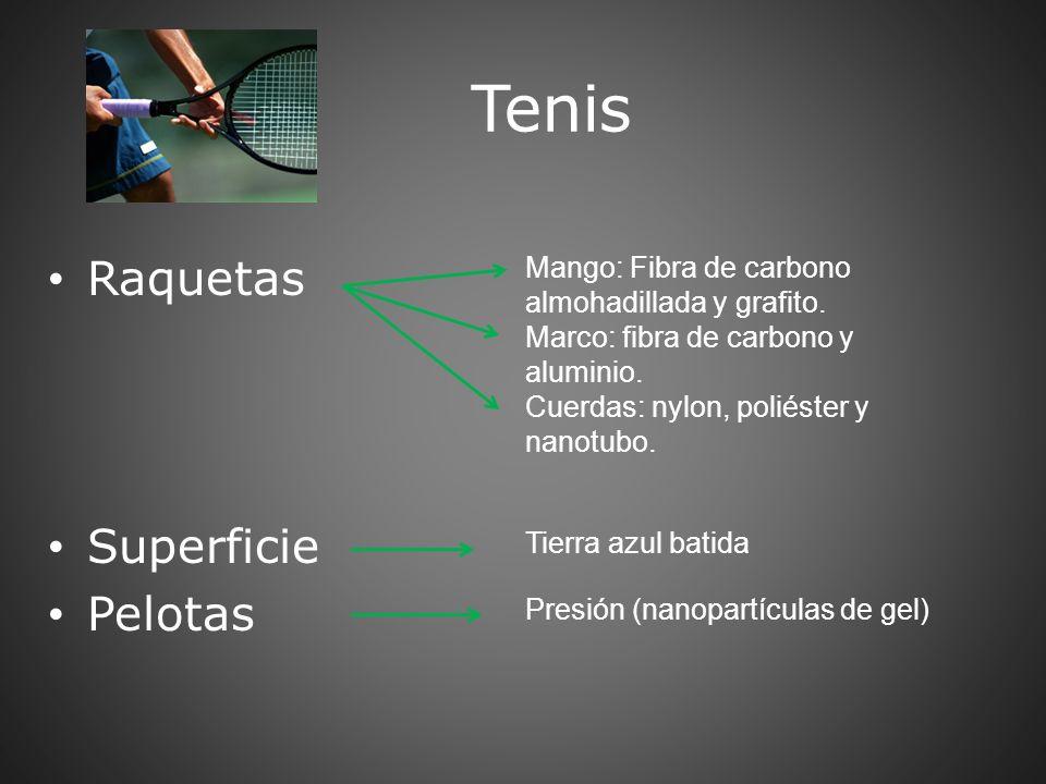 Tenis Raquetas Superficie Pelotas