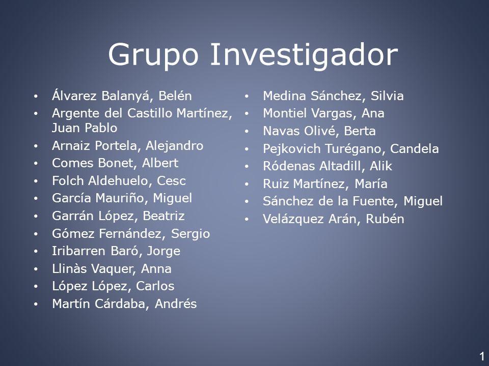 Grupo Investigador Álvarez Balanyá, Belén Medina Sánchez, Silvia