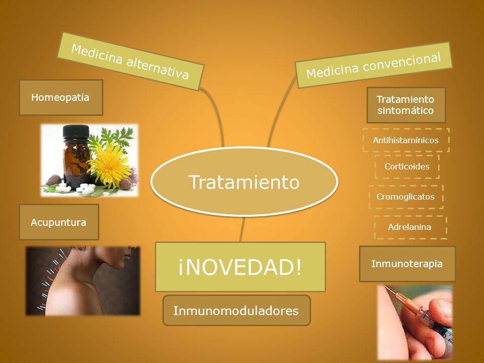 ¡NOVEDAD! Tratamiento Medicina alternativa Medicina convencional