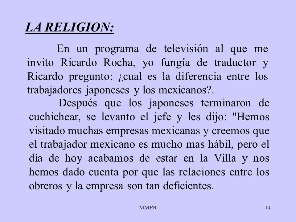 LA RELIGION: