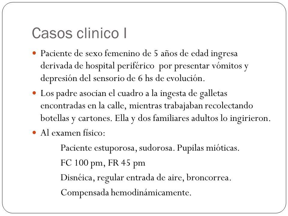 Casos clinico I