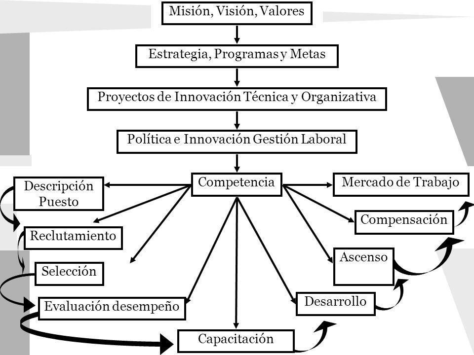 Estrategia, Programas y Metas