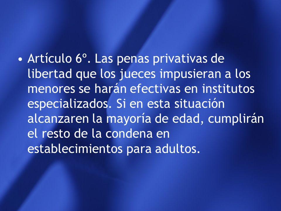 Artículo 6º.