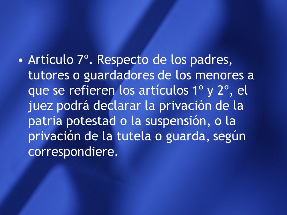 Artículo 7º.