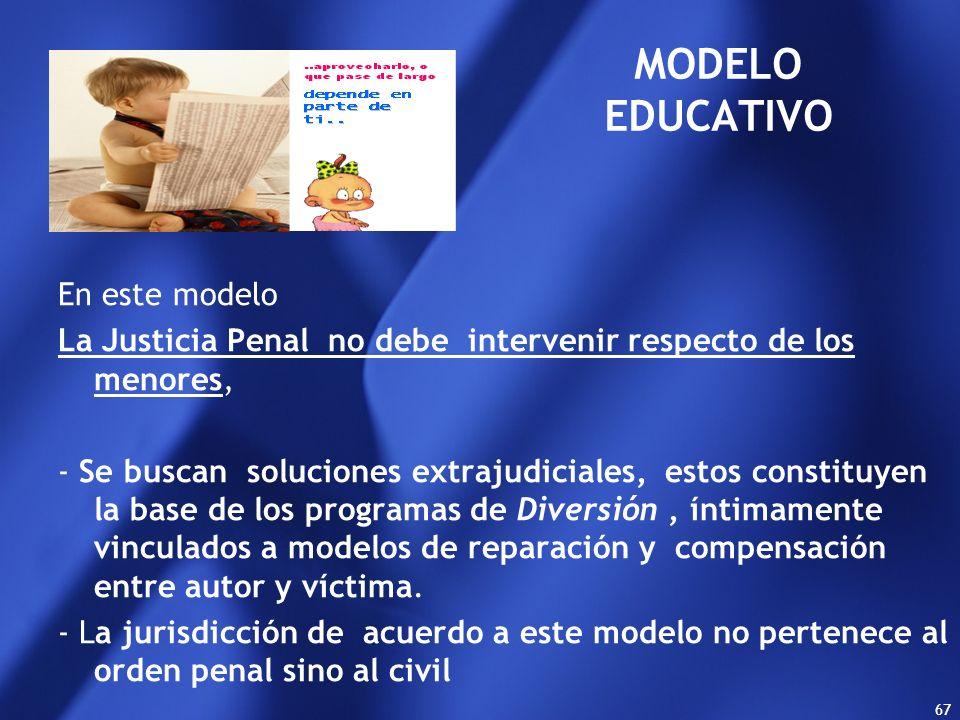 MODELO EDUCATIVO En este modelo