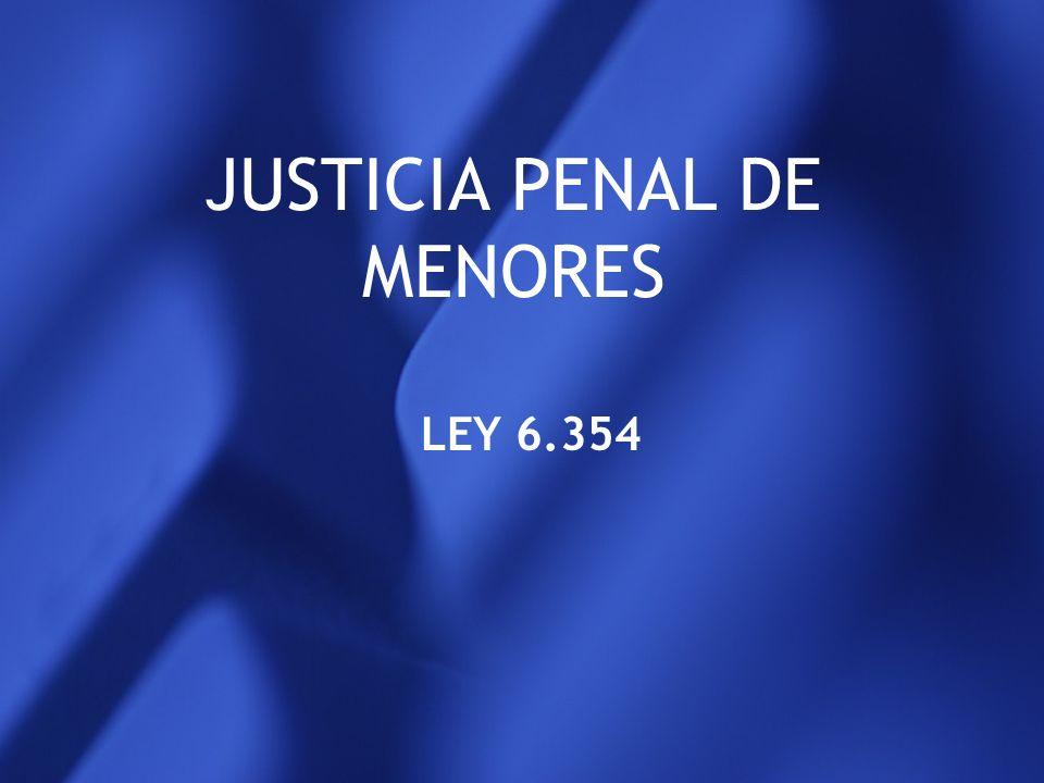 JUSTICIA PENAL DE MENORES