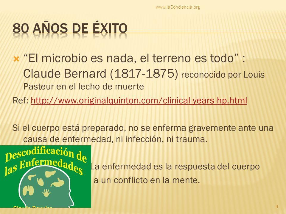 www.laConciencia.org80 años de éxito.