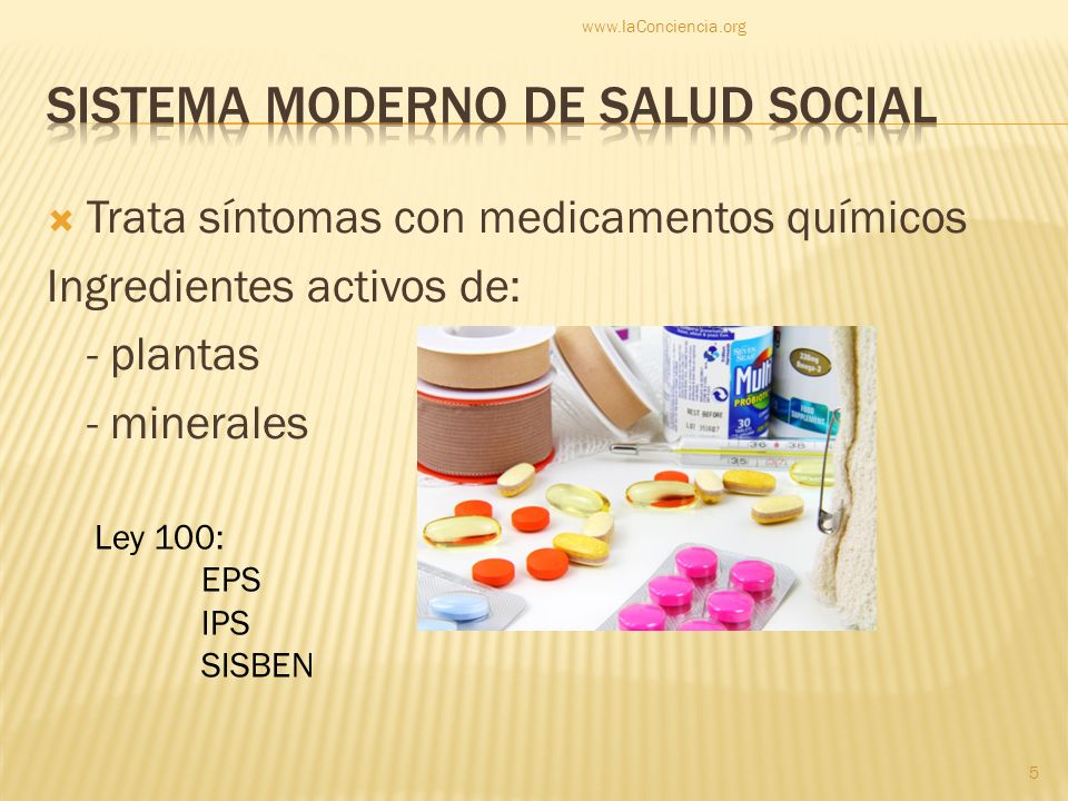 Sistema moderno de salud social