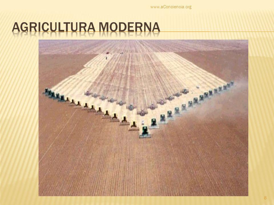 www.aConciencia.org Agricultura moderna