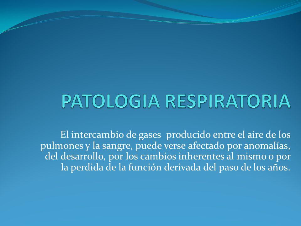 PATOLOGIA RESPIRATORIA