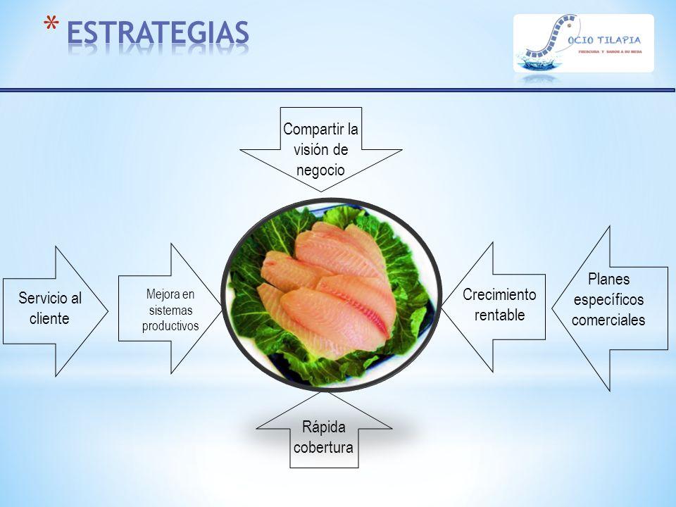 ESTRATEGIAS Compartir la visión de negocio