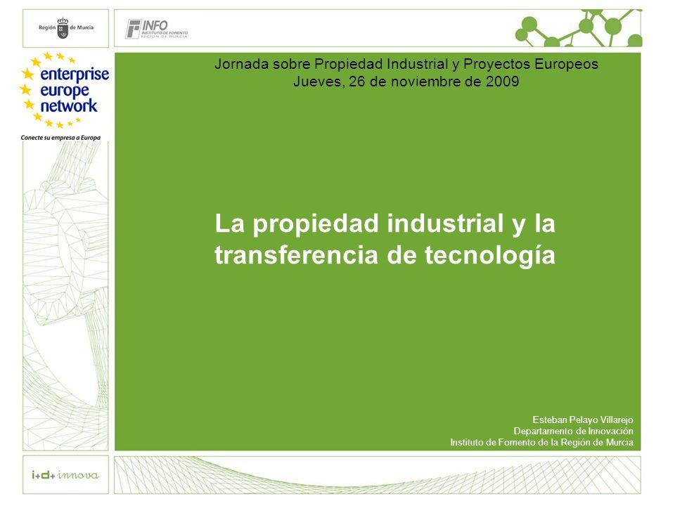 La propiedad industrial y la transferencia de tecnología