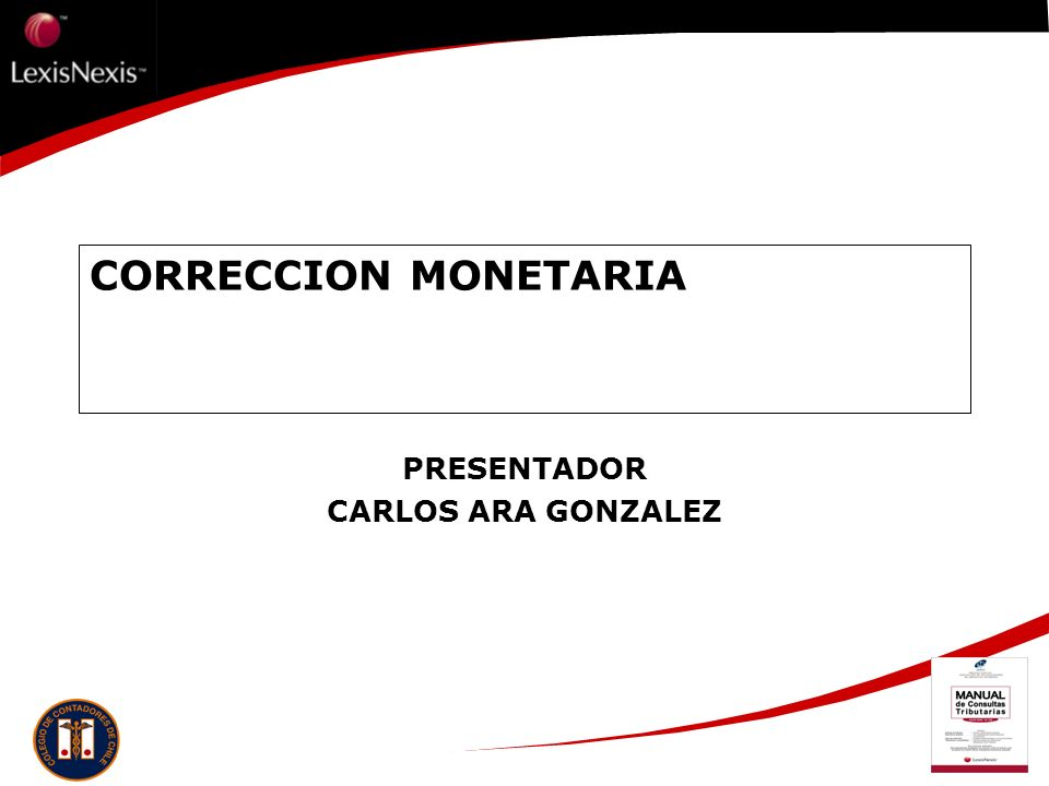 PRESENTADOR CARLOS ARA GONZALEZ