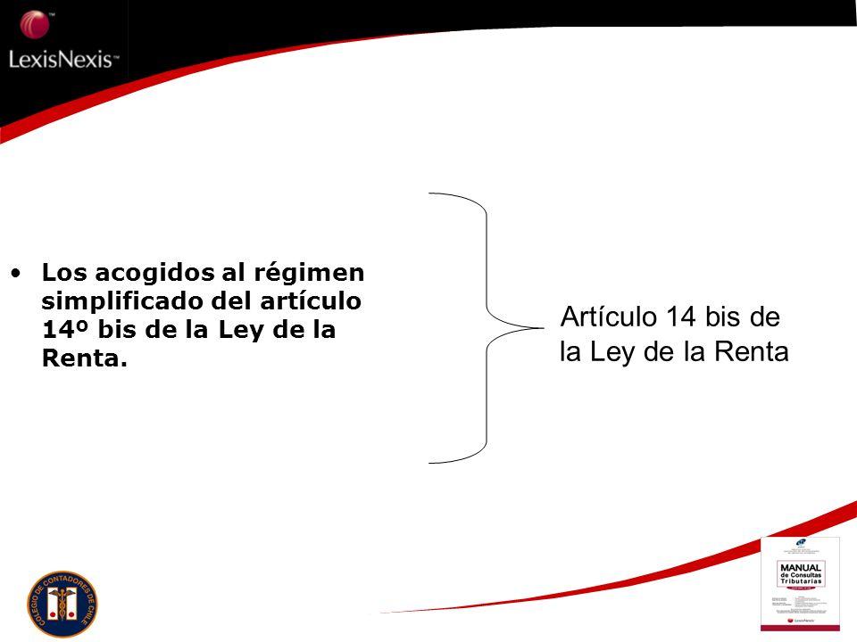 Artículo 14 bis de la Ley de la Renta