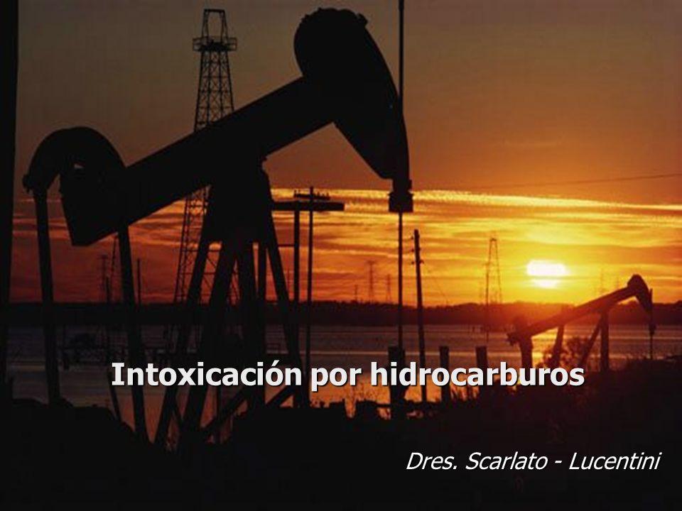 Intoxicación por hidrocarburos