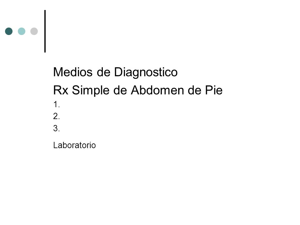 Rx Simple de Abdomen de Pie