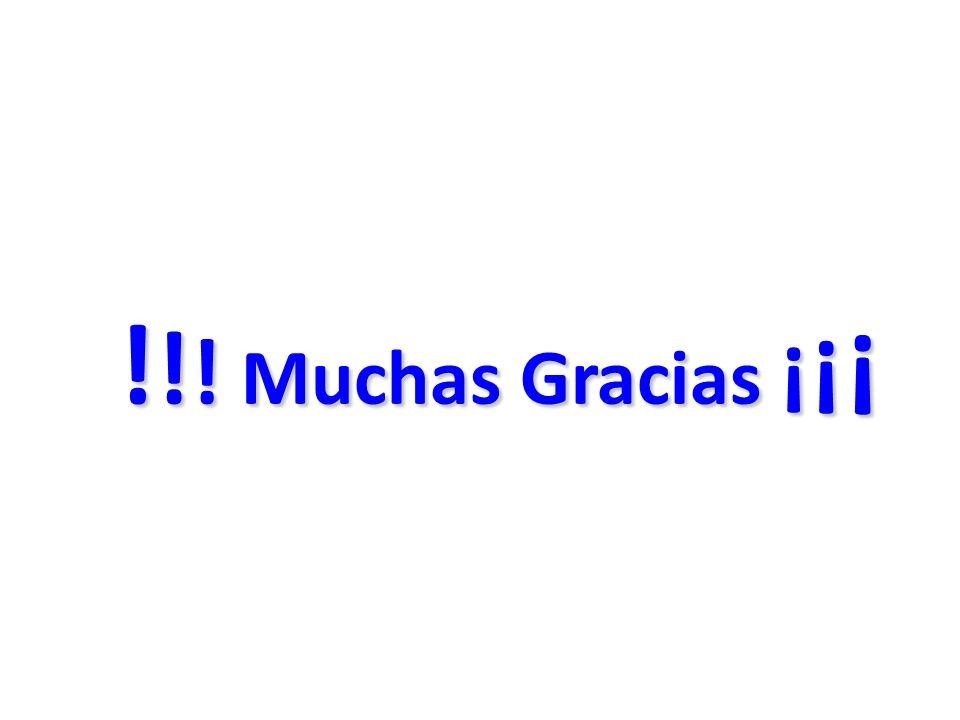 !!! Muchas Gracias ¡¡¡