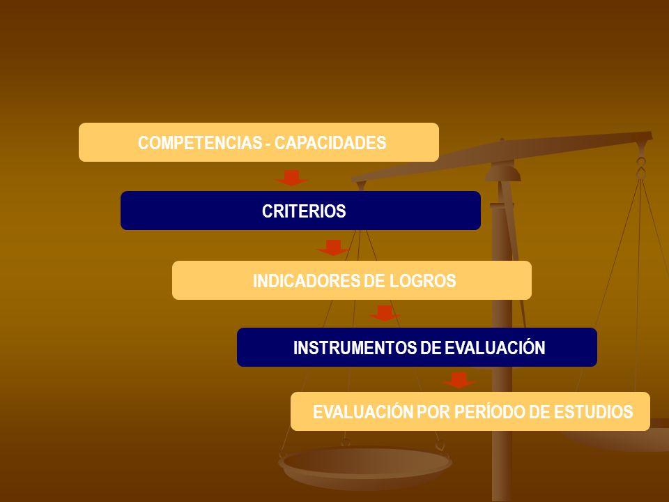 COMPETENCIAS - CAPACIDADES