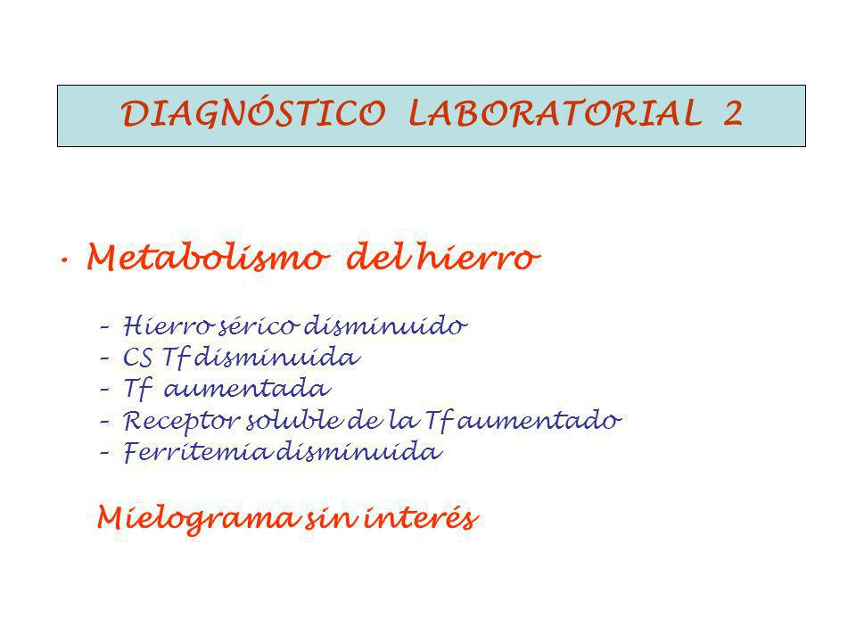 Diagnóstico laboratorial 2