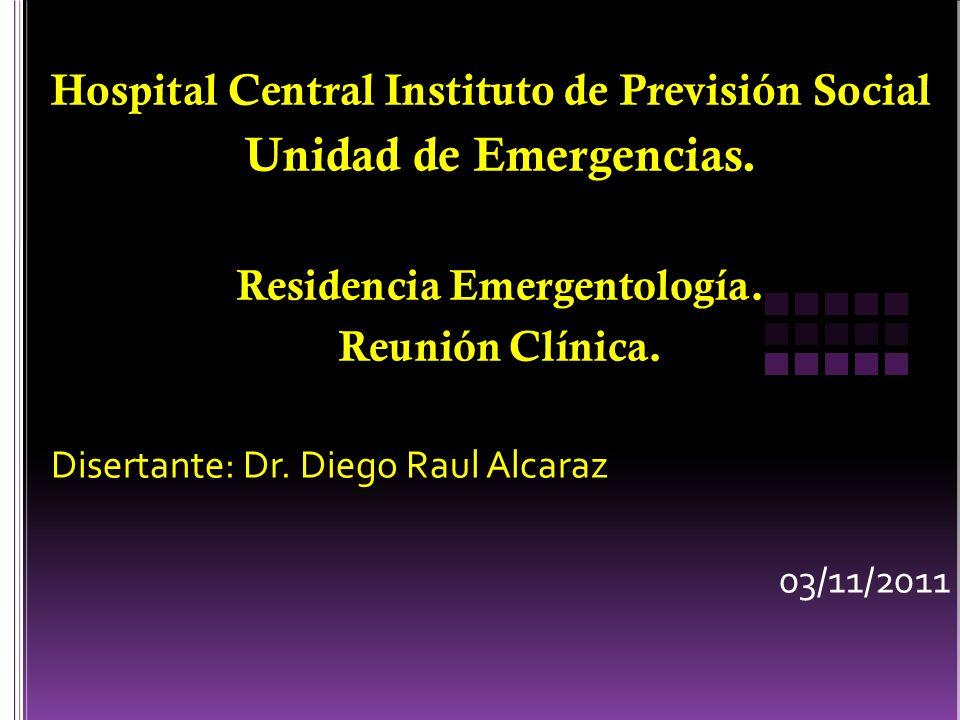 Residencia Emergentología.