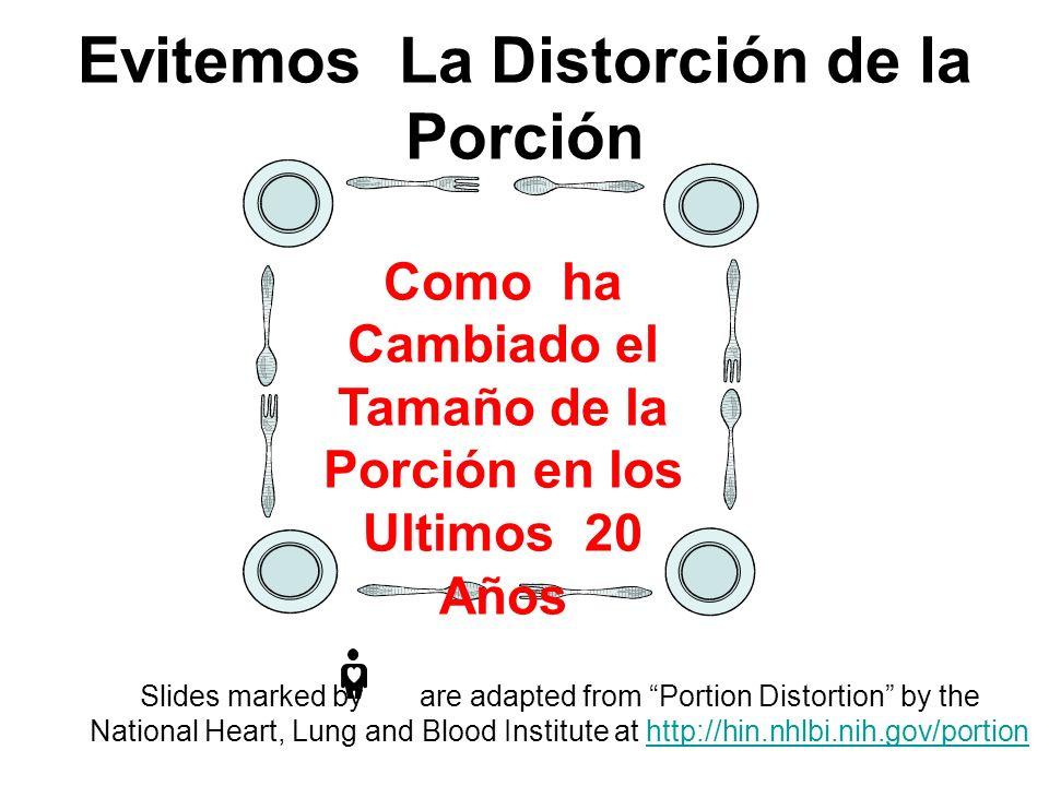 Evitemos La Distorción de la Porción