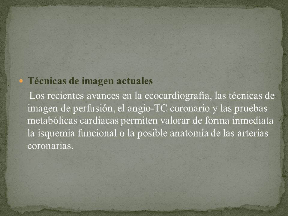 Técnicas de imagen actuales