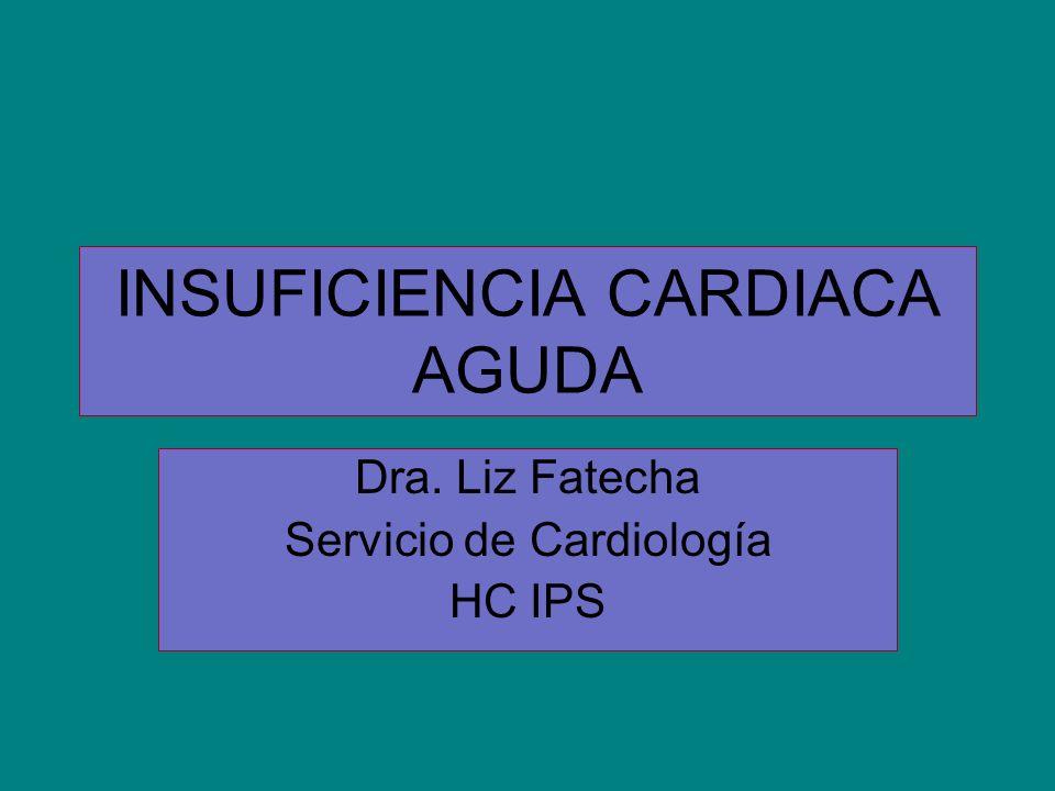 INSUFICIENCIA CARDIACA AGUDA