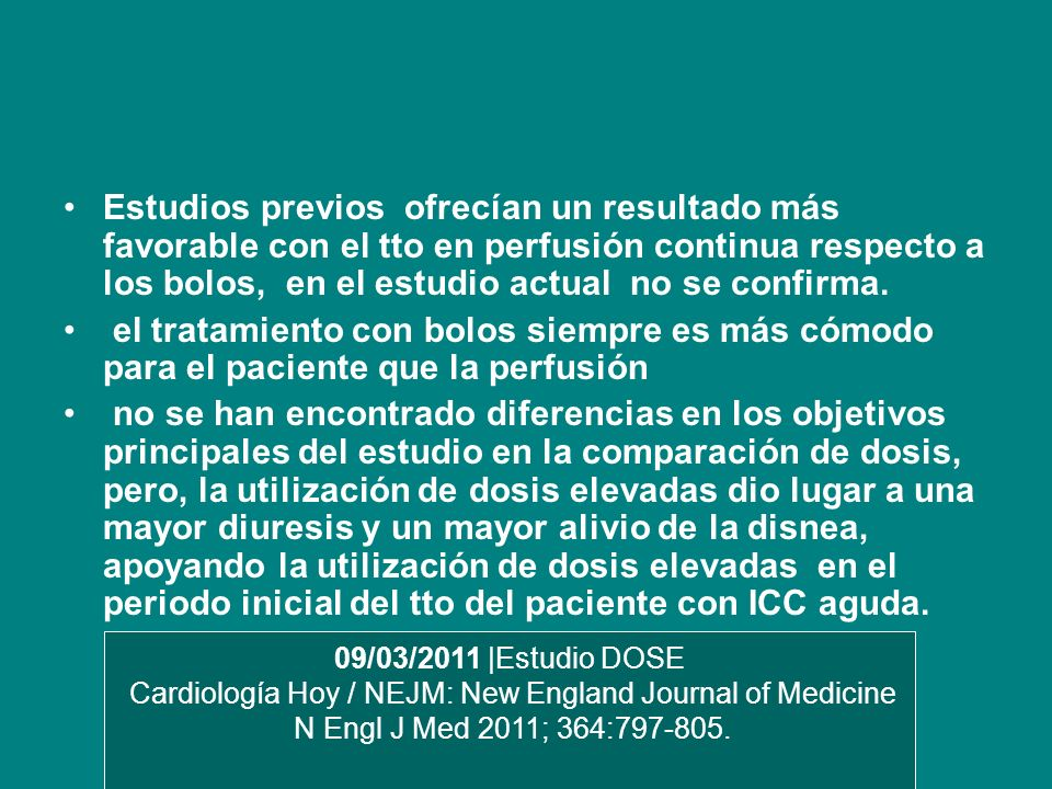 Cardiología Hoy / NEJM: New England Journal of Medicine