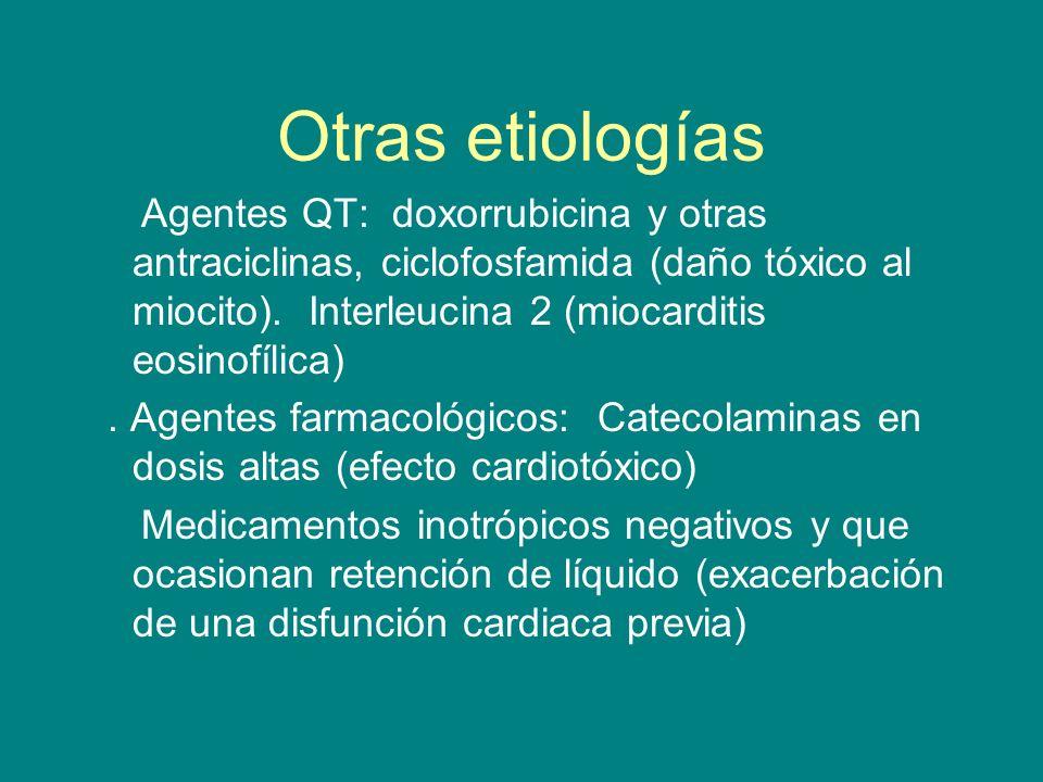 Otras etiologías