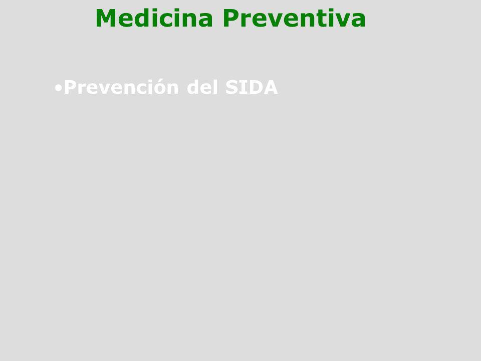 Medicina Preventiva Prevención del SIDA
