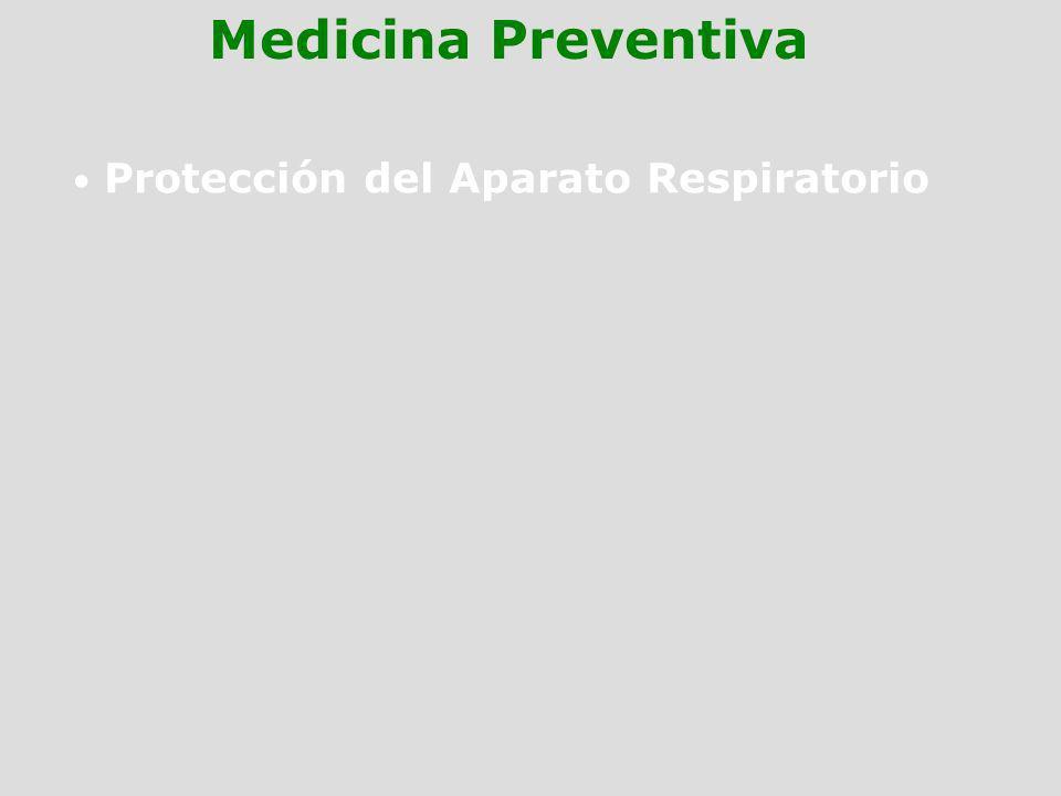 Protección del Aparato Respiratorio